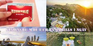 kinh nghiệm du lịch Bà Nà Hills tự túc