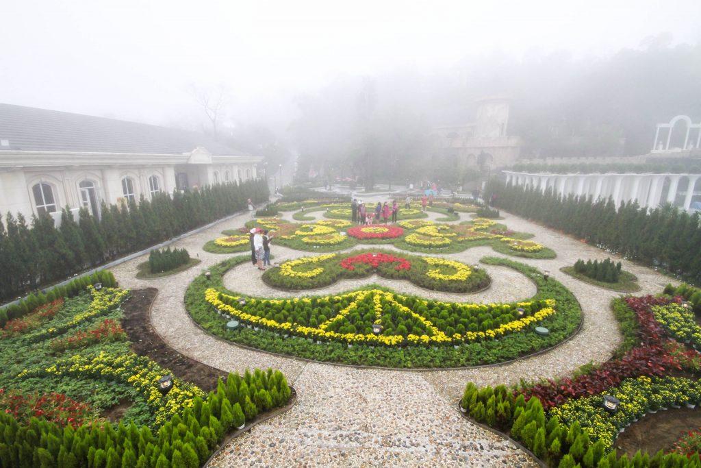 Vườn hoa Bà Nà Hiills