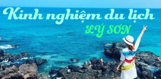 kinh nghiệm du lịch đảo Lý Sơn