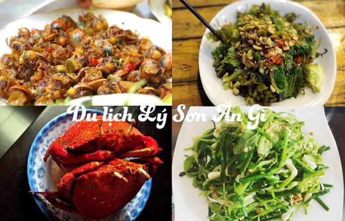 du lịch Lý Sơn ăn gì