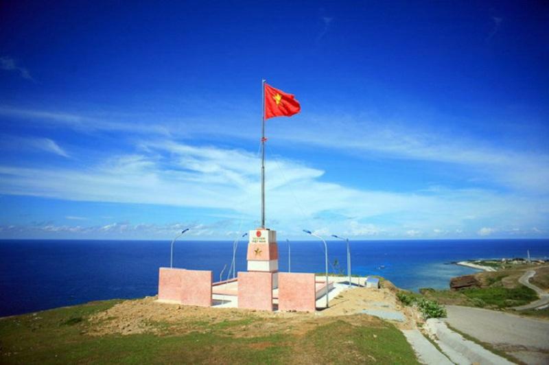 cột cờ tổ quốc đảo lý sơn