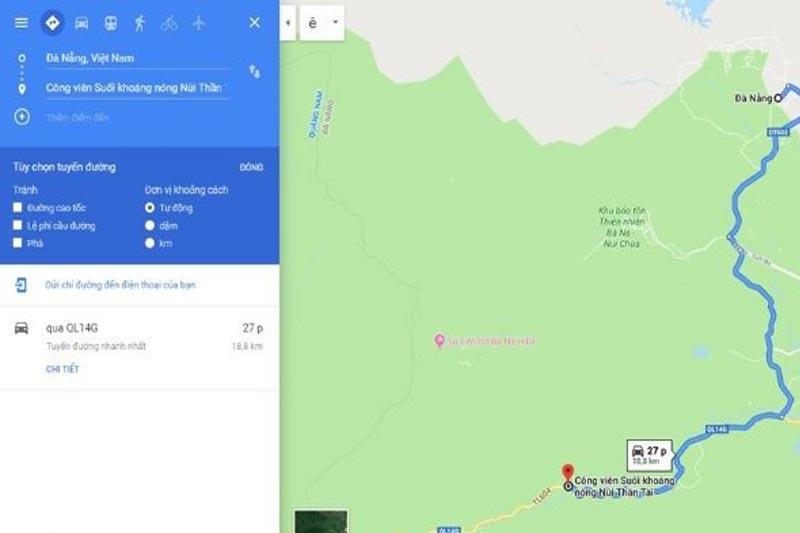 cách đi Núi Thần Tài từ Đà Nẵng